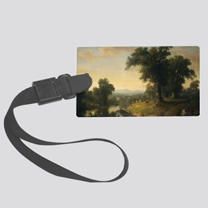 Asher Brown Durand - A Pastoral  Large Luggage Tag