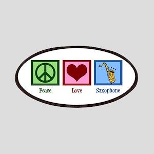 Peace Love Saxophones Patches
