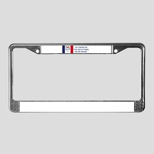 Iowa Motto #1 License Plate Frame