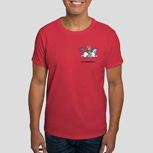 Bigfoot Alien Unicorn Dark T-Shirt