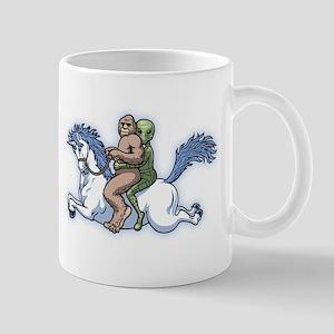 Bigfoot Alien Unicorn Mug