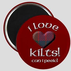 I Love Kilts! Magnet