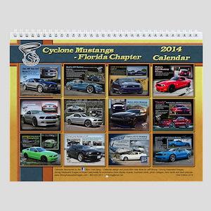 2014 Cyclone Mustangs First Calendar