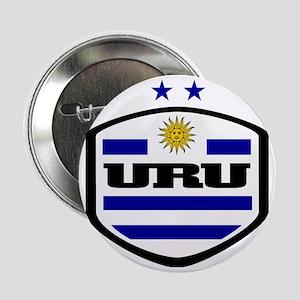 """WC14 URUGUAY 2.25"""" Button"""