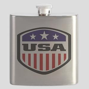 WC14 USA Flask