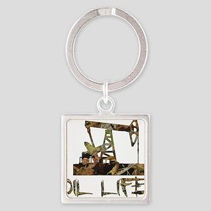 Camo Oil Life Keychains
