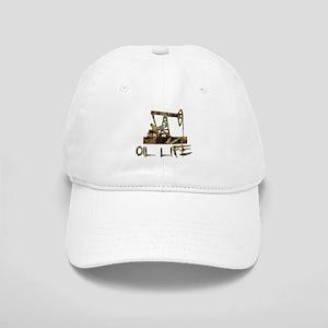 Camo Oil Life Baseball Cap