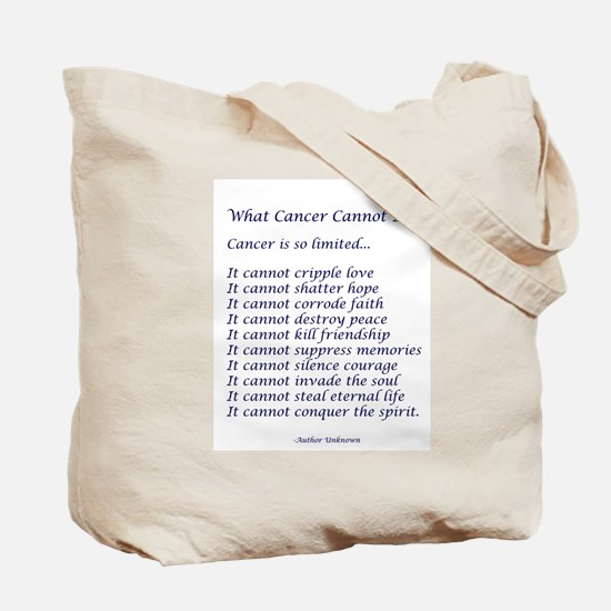 Southwest Cancer Angel Tote Bag