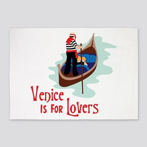 Venice Is For Lovers 5'x7'Area Rug