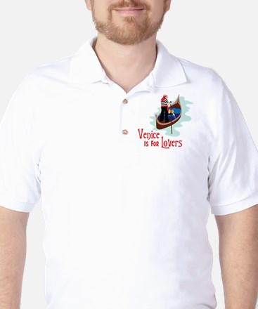 Venice Is For Lovers Golf Shirt