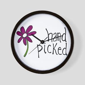 Hand Picked Wall Clock