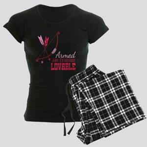 Armed AND EXTREMELY LOVABLE Pajamas