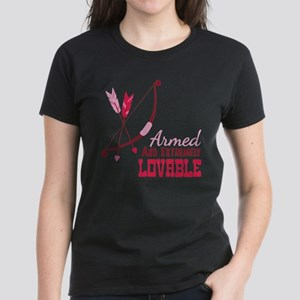 Armed AND EXTREMELY LOVABLE T-Shirt