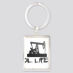 Honeycomb Oil Life Pumpjack Keychains