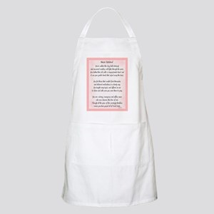 Nurse Retired Poem Apron