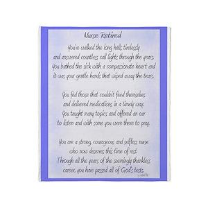 Poem Blankets Cafepress