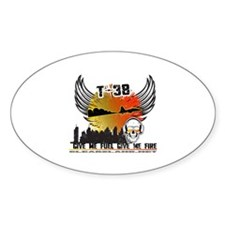 T-38 Sticker (Oval)