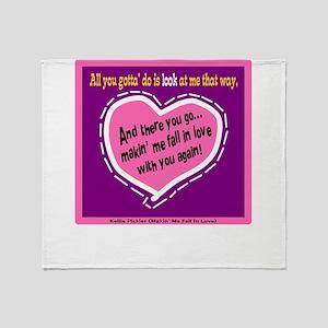 Fall In Love-Kellie Pickler Throw Blanket