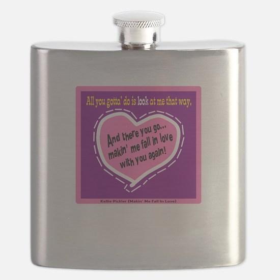 Fall In Love-Kellie Pickler Flask