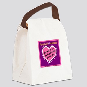 Fall In Love-Kellie Pickler Canvas Lunch Bag