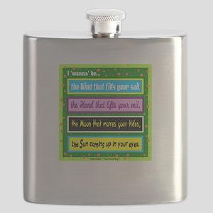 I Wanna Be-Keith Urban/t-shirt Flask