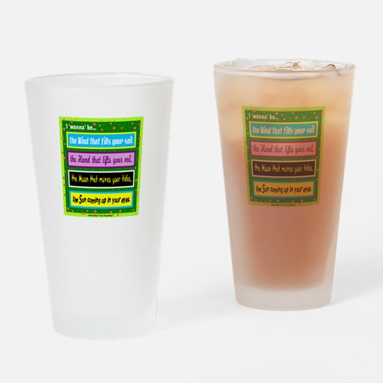 I Wanna Be-Keith Urban/t-shirt Drinking Glass