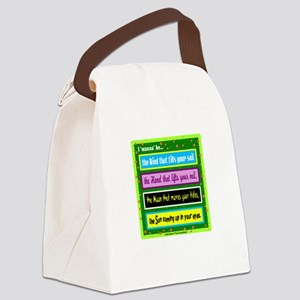 I Wanna Be-Keith Urban/t-shirt Canvas Lunch Bag