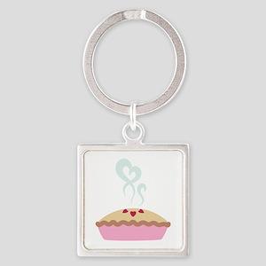 Pie Hearts Keychains
