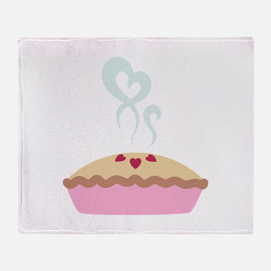 Pie Hearts Throw Blanket