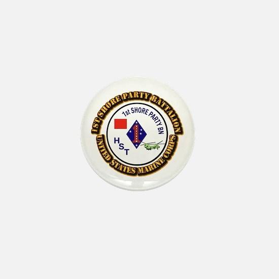 USMC - 1st Shore Party Battalion with Text Mini Bu