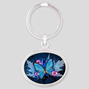 blue butterfly Keychains