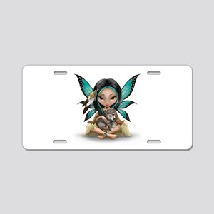 native darling Aluminum License Plate