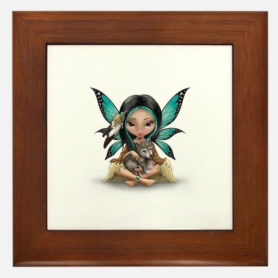 native darling Framed Tile