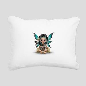 native darling Rectangular Canvas Pillow