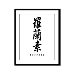 Lorenzo Framed Panel Print