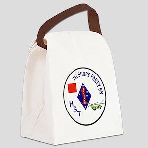 USMC - 1st Shore Party Battalion Canvas Lunch Bag