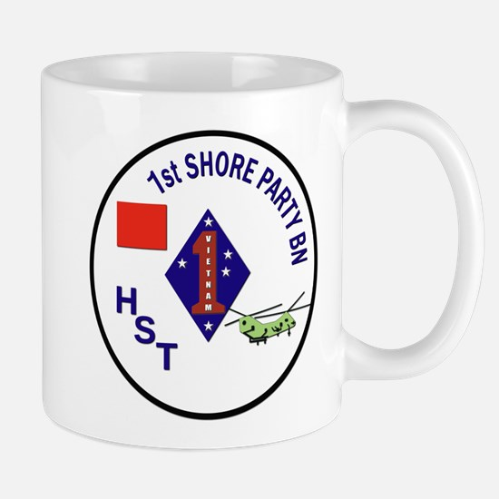 USMC - 1st Shore Party Battalion Mug