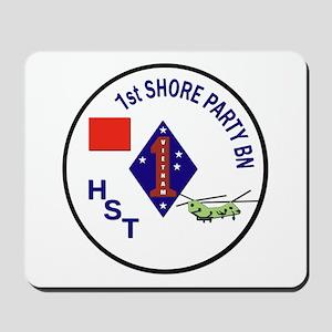 USMC - 1st Shore Party Battalion Mousepad