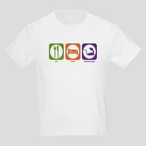 Eat Sleep Herpetology Kids Light T-Shirt
