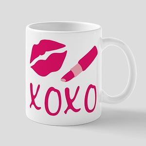 Lipstick Lips Kiss X O Mugs