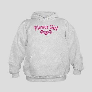 Flower Girl Kids Hoodie