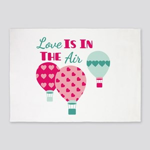 Love IS IN THE Air 5'x7'Area Rug