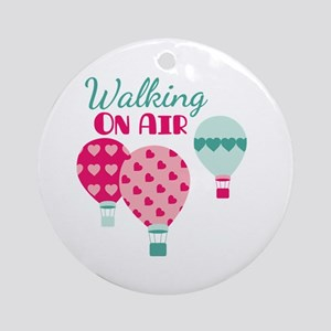 Walking ON AIR Ornament (Round)