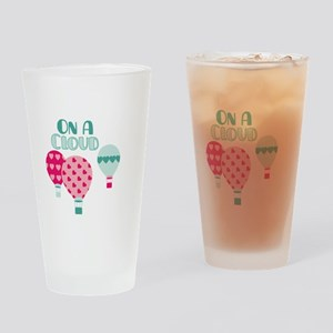 ON A CLOUD Drinking Glass