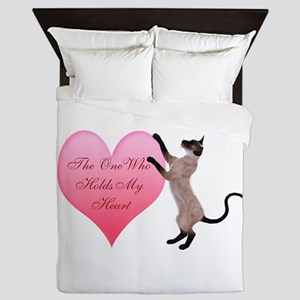 Valentine Cat Queen Duvet