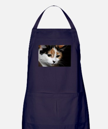 Calico Cat Chiara Apron (dark)