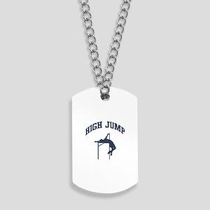 High Jump Dog Tags