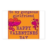 Gorgeous girlfriend Postcards (Package of 8)