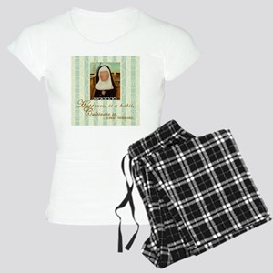 Happiness Nun Women's Light Pajamas