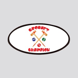 CROQUET CHAMPION Patches